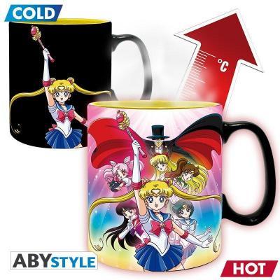 Sailor moon groupe mug thermoreactif 460ml