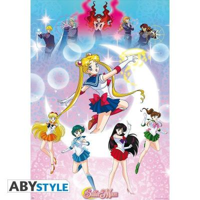 Sailor moon moonlight power poster 91x61