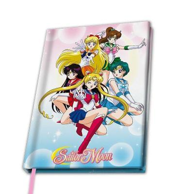 Sailor moon notebook a5 sailor guerrieres
