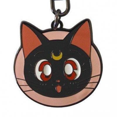 Sailor moon porte cles metal luna