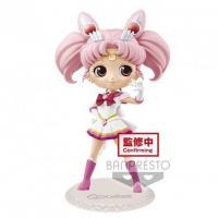 Sailor moon super sailor chibi moon figurine q posket ver a 14cm 1