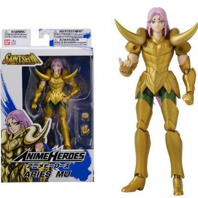 Saint seiya aries mu figurine anime heroes 17cm