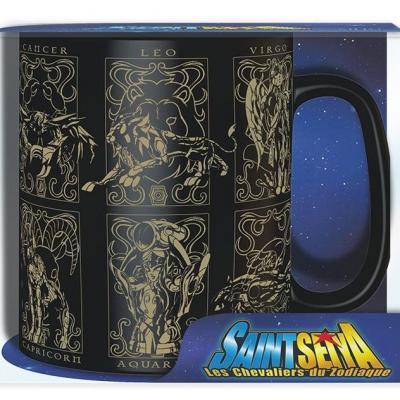 Saint seiya armures d or mug 460 ml 1