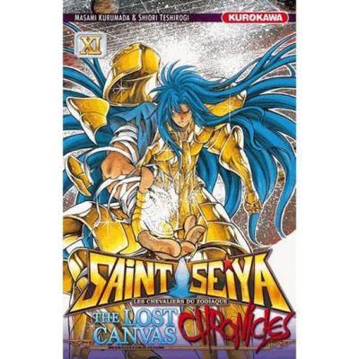 Saint seiya the lost canvas chronicles tome 11
