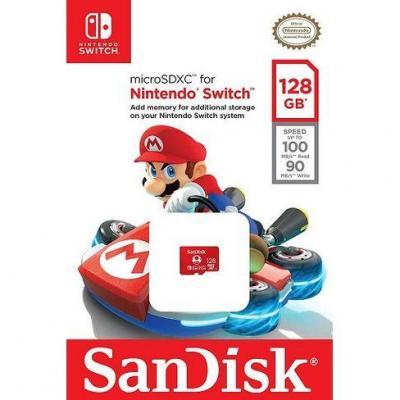 Sandisk microsdxc 128 gb nintendo switch