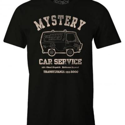 Scooby doo mystery car service t shirt homme