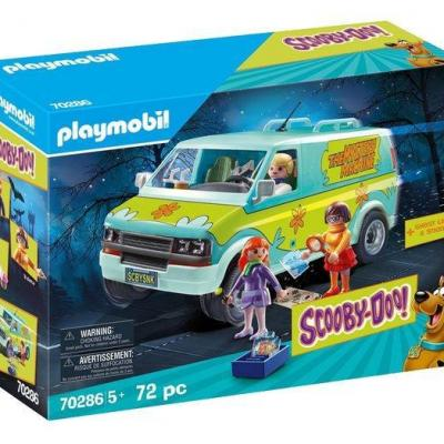 Scooby doo mystery machine playmobil