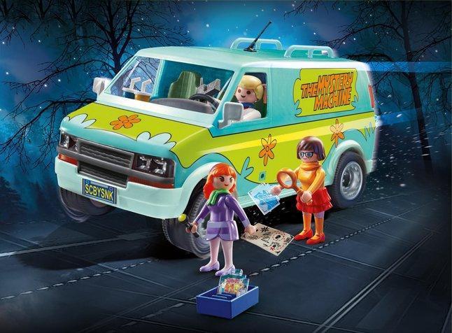 Scooby doo mystery machine playmobil 1