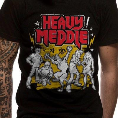 Scooby doo t shirt in a tube heavy meddle