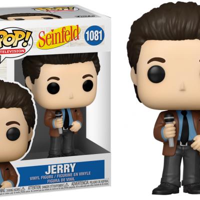 Seinfeld bobble head pop n 1081 jerry doing standup