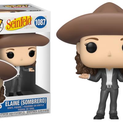 Seinfeld bobble head pop n 1087 elaine in sombrero