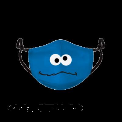 Sesame street blue masque visage ajustable