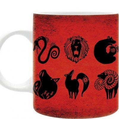Seven deadly sins emblem mug 320ml