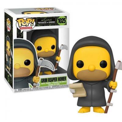 Simpsons bobble head pop n 1025 grim reaper homer