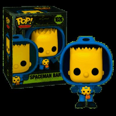 Simpsons bobble head pop n 1026 spaceman bart