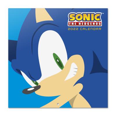 Sonic calendrier 2022 30x30cm