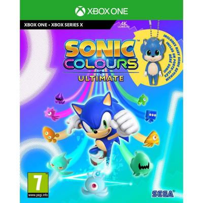 Sonic colours ultimate day one edition incl baby sonic keyring 1