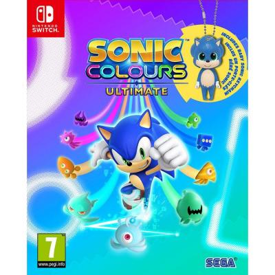 Sonic colours ultimate day one edition incl baby sonic keyring