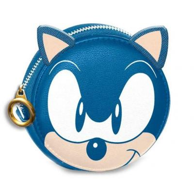 Sonic speed porte monnaie 9x9x2cm