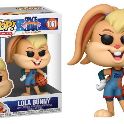 Space jam 2 bobble head pop n 1061 lola bunny
