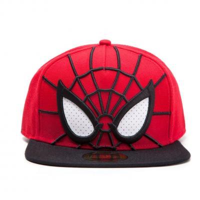 Spider man casquette snapback 3d eyes