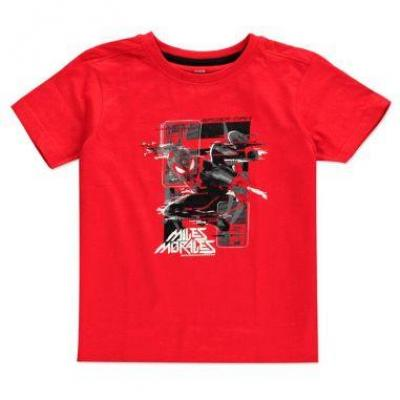 Spider man miles morales glitch miles t shirt kids