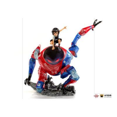 Spider man peni parker sp statuette bds art scale deluxe 25cm 0