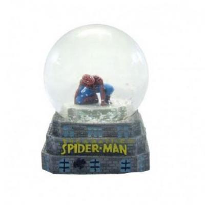 Spiderman boule a neige figurine 8 5cm