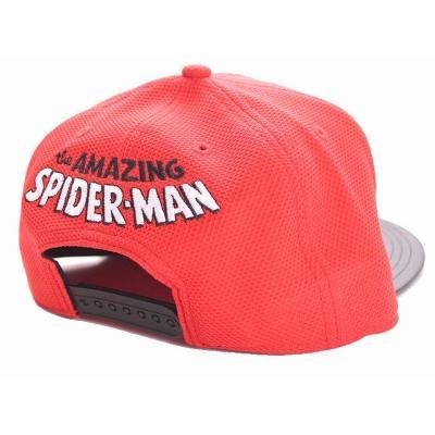Spiderman casquette snapback spider mark red 1