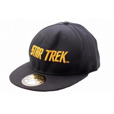 Star trek casquette typo black