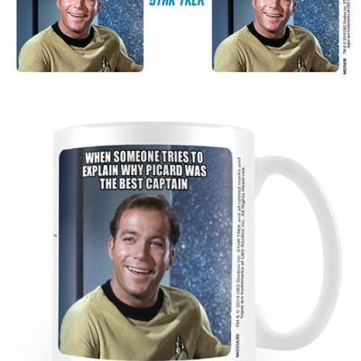 Star trek kirk laughing mug 315ml