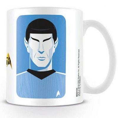 Star trek mug 300 ml pop spock 50th anniversary