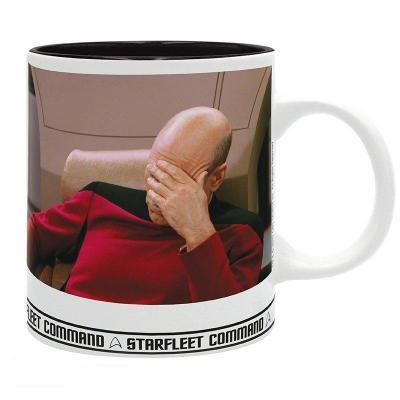 Star trek mug 320 ml facepalm subli