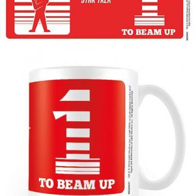 Star trek one to beam up mug 315ml