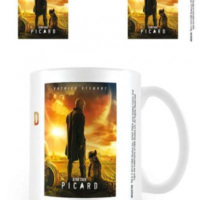 Star trek picard picard number one mug 315ml