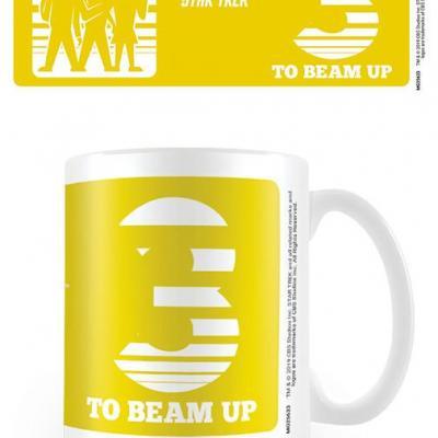 Star trek three to beam up mug 315ml