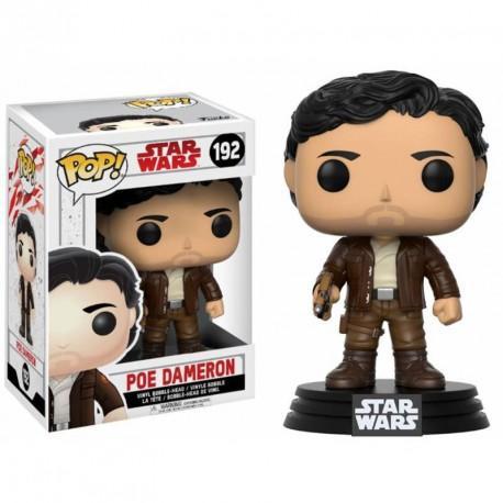 Star wars 8 the last jedi bobble head pop n 192 poe dameron 1