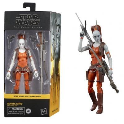 Star wars aurra sing figurine black series 15cm
