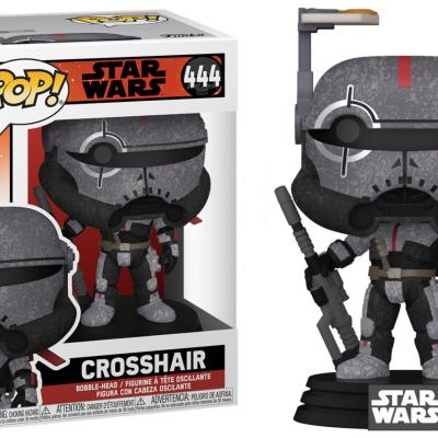Star wars bad batch bobble head pop n 444 crosshair 1