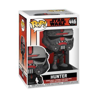 Star wars bad batch bobble head pop n 446 hunter