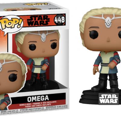 Star wars bad batch bobble head pop n 448 omega