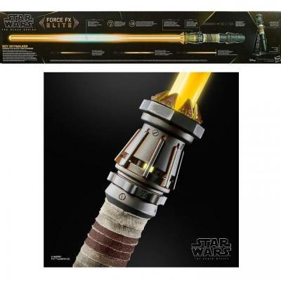 Star wars black series sabre laser force fx rey skywalker