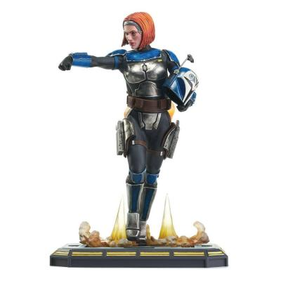 Star wars bo katan statuette premier collection en resine 28cm