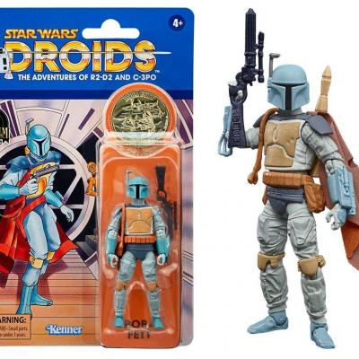 Star wars boba fett figurine vintage collection 10cm
