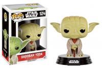 Star wars bobble head pop n 124 dagobah yoda 1