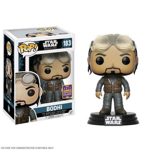 Star wars bobble head pop n 183 bodhi 2017 sce
