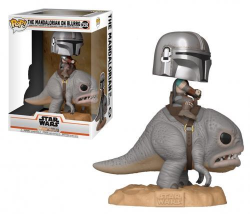 Star wars bobble head pop n 358 the mandalorian on blurrg