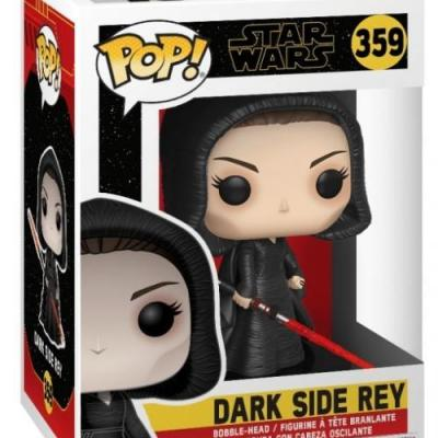 Star wars bobble head pop n 359 episode ix dark rey 9cm