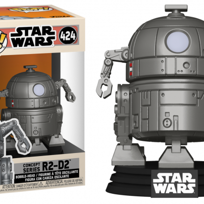 Star wars bobble head pop n 424 sw concept r2 d2