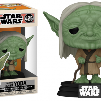 Star wars bobble head pop n 425 sw concept yoda